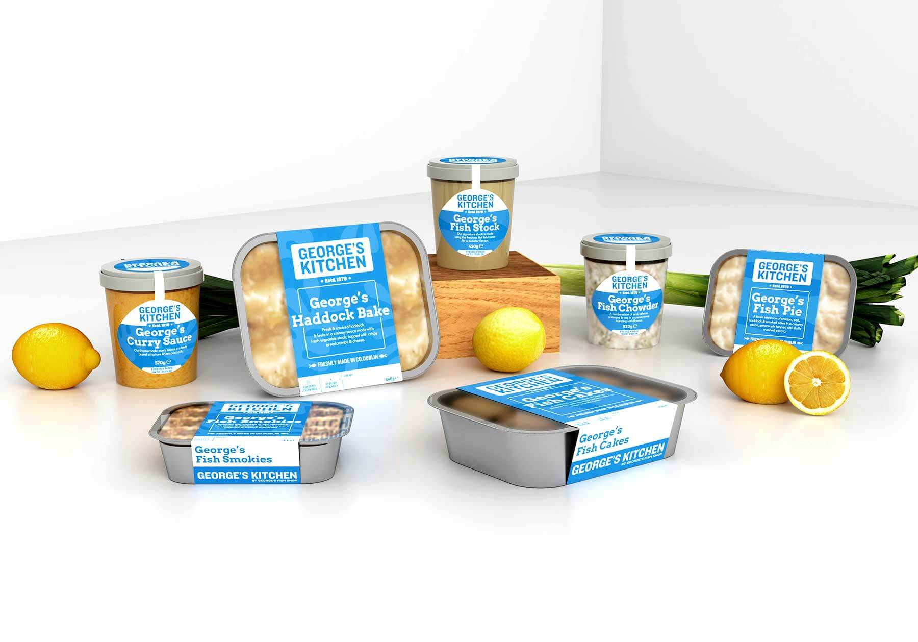 George's Kitchen Packaging View 1