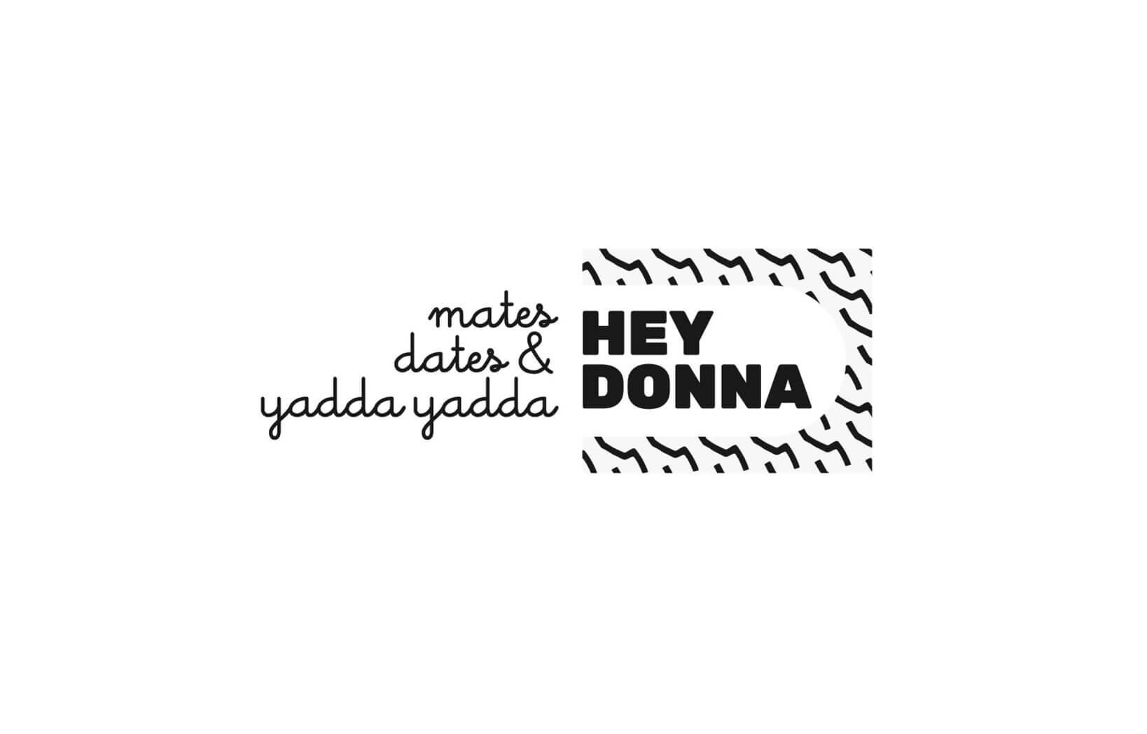 Hey Donna Logo